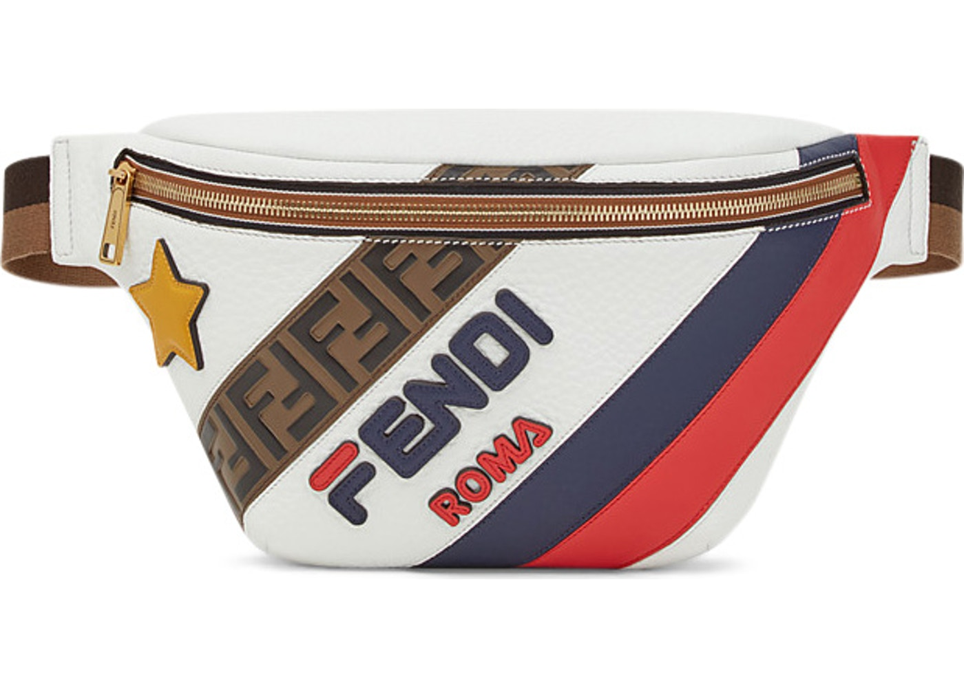 68ae66d6440d Fendi Mania Belt Bag Multicolor. Multicolor