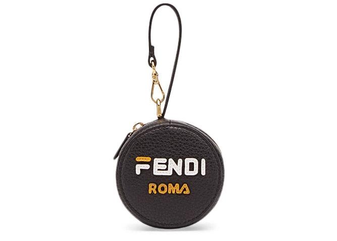 Fendi Mania Charm Tote Bag Black