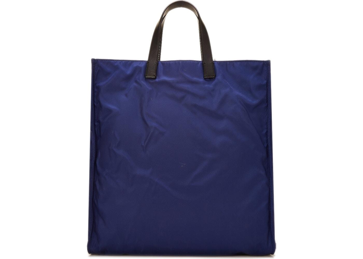 56852fade566 Fendi Monster Tote Nylon Blue