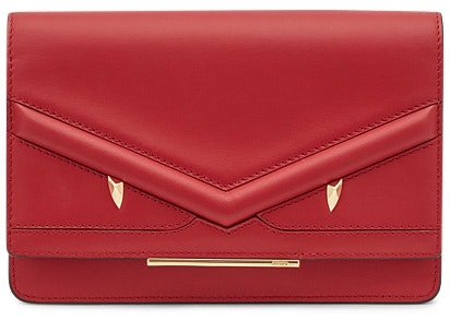 Fendi Wallet on Chain Bag Bugs Red