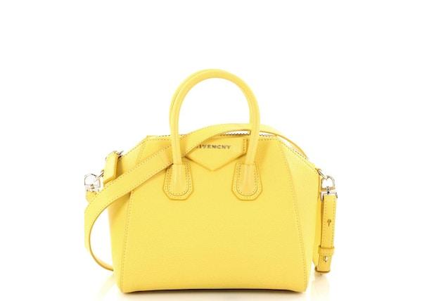 Givenchy Antigona Crossbody Mini Yellow 0fa742abf8189