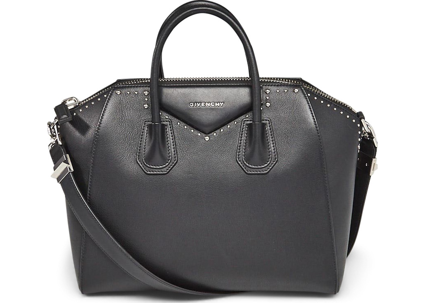 200d154436d Givenchy Antigona Tote Studded Medium Black