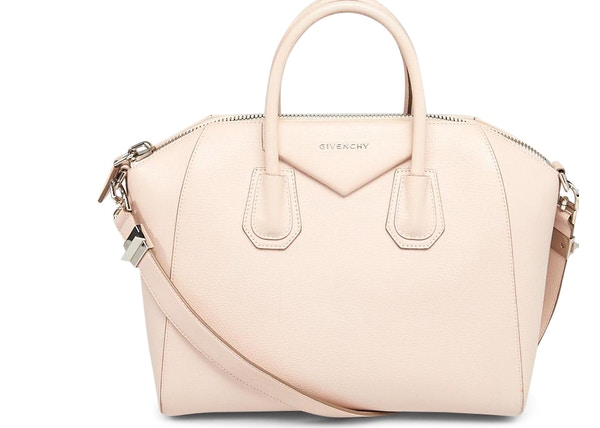 e8f8e382e4e Givenchy Antigona Tote Sugar Goatskin Medium Light Pink
