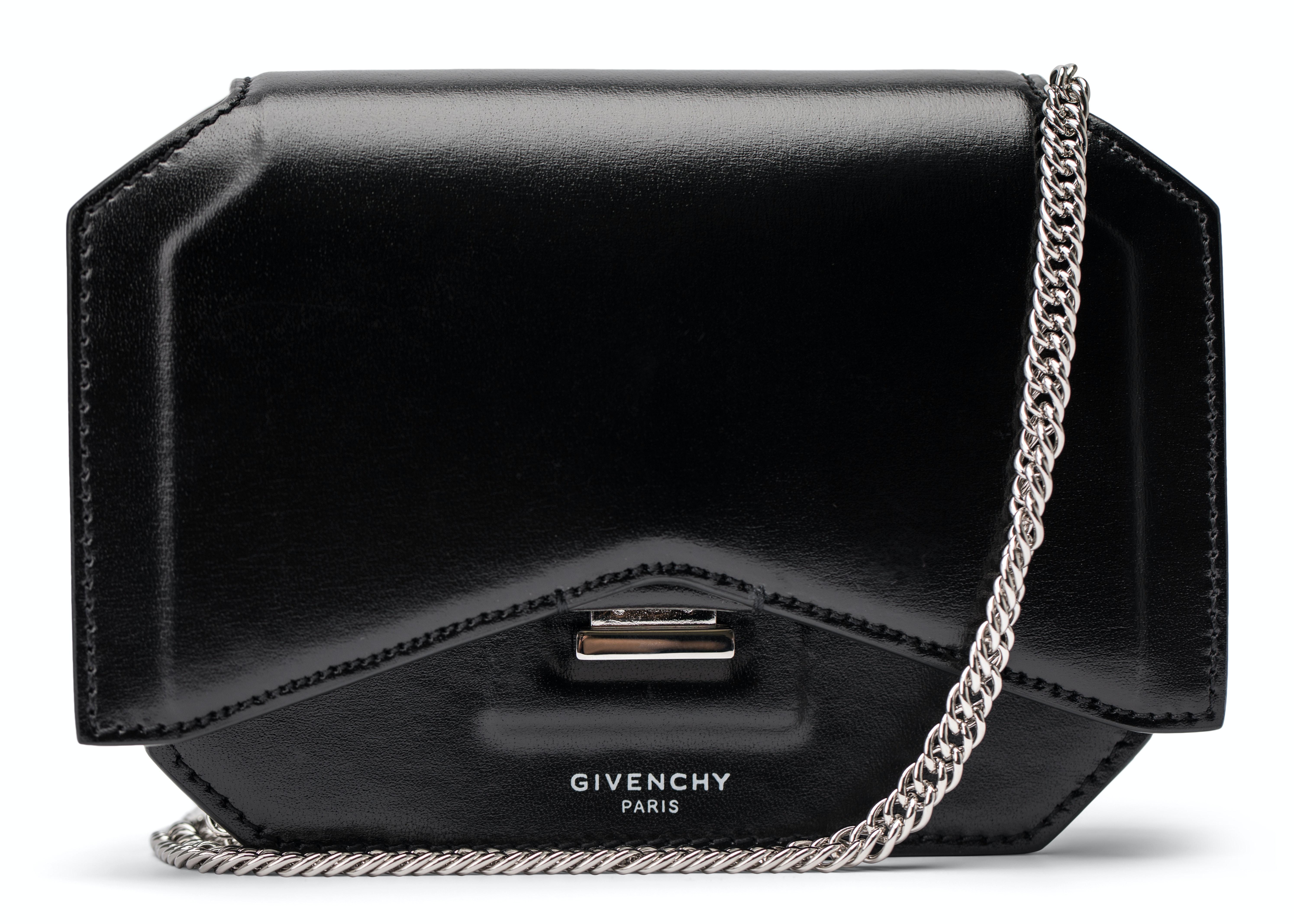 Givenchy Crossbody Bow-Cut Mini Black