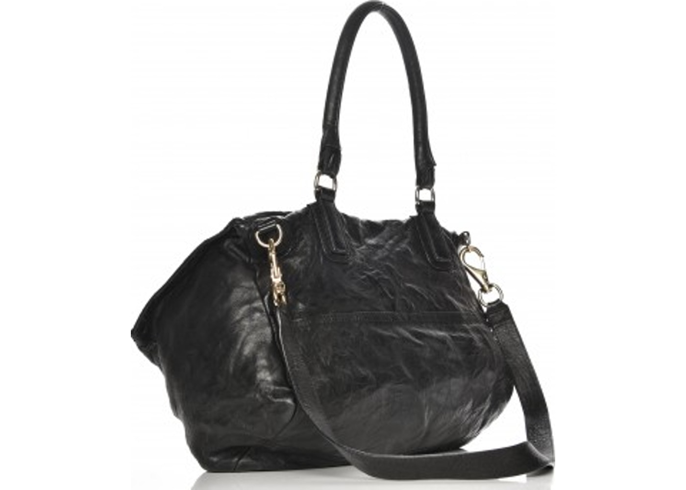 0482a746cd Sell. or Ask. View All Bids. Givenchy Pepe Pandora Messenger Tumbled  Sheepskin Large Black