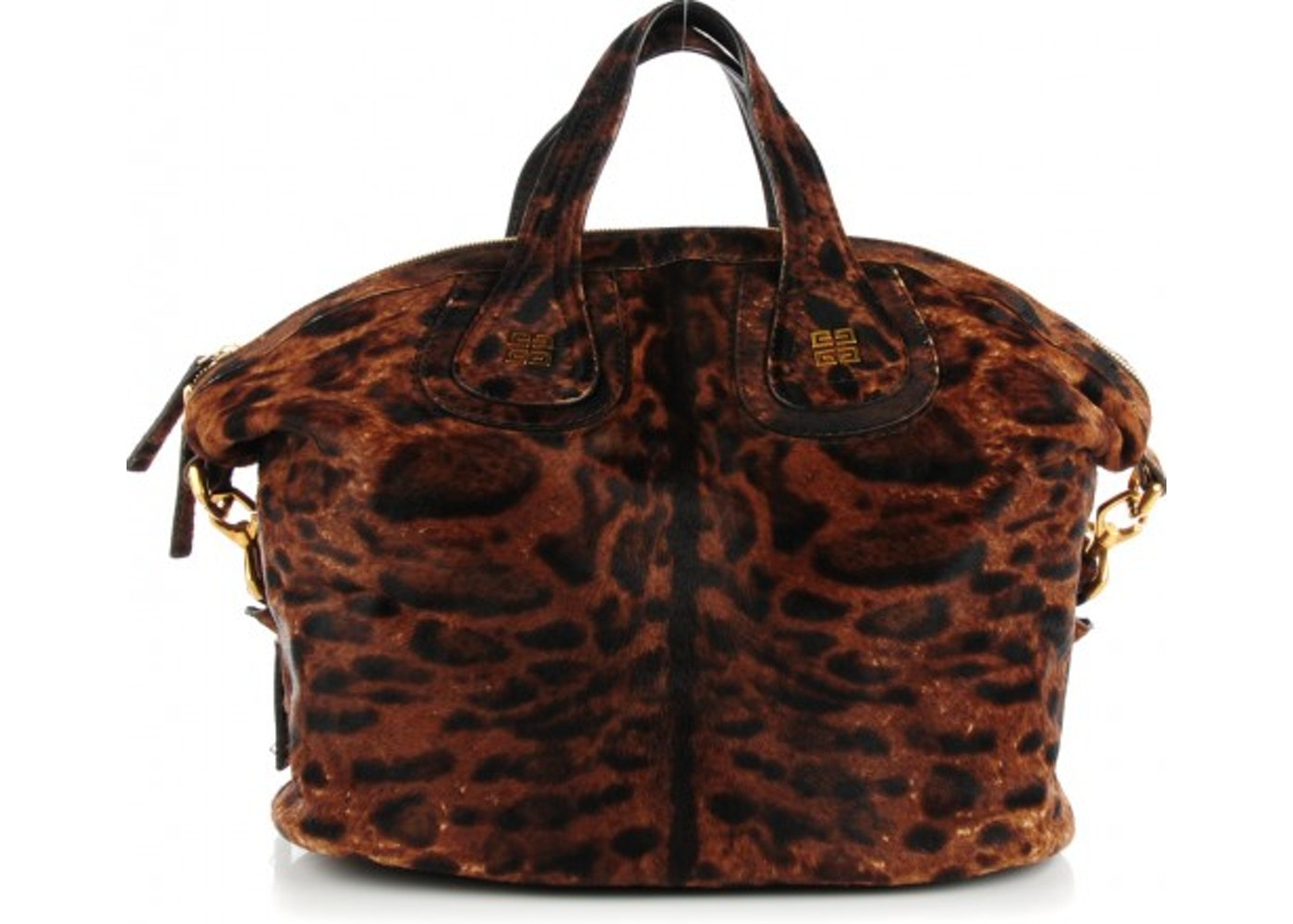 197baff62456 Givenchy Nightingale Tote Leopard Print Medium Brown. Leopard Print Medium  Brown