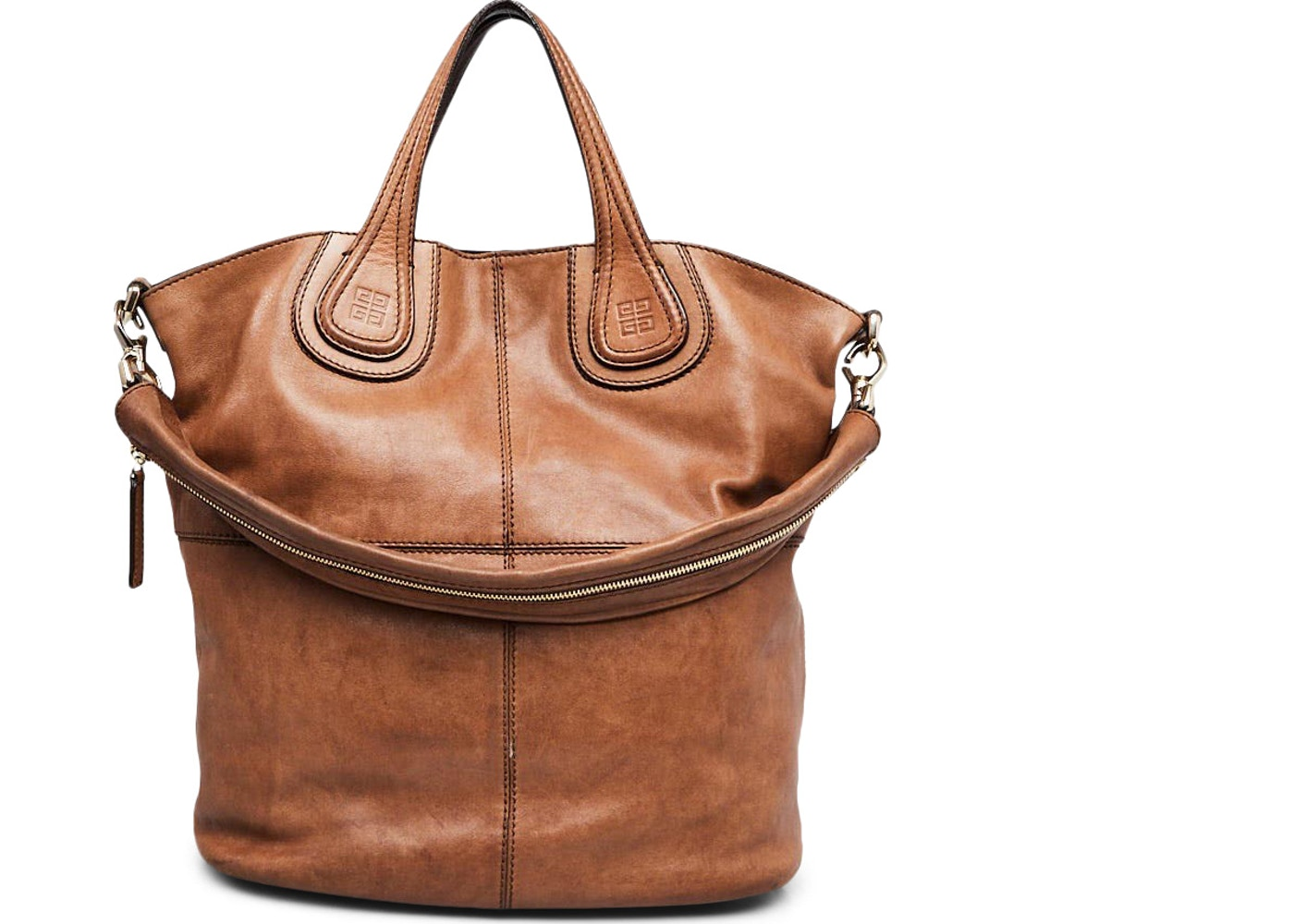 Givenchy Nightingale Shopping Tote Lambskin Brown. Lambskin Brown 740420e2ed401