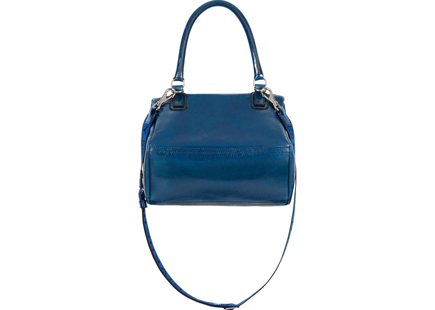 22fb5610617 Sell. or Ask. View All Bids. Givenchy Pandora Bag Patent Leather 4G Strap  Small Petrol Blue