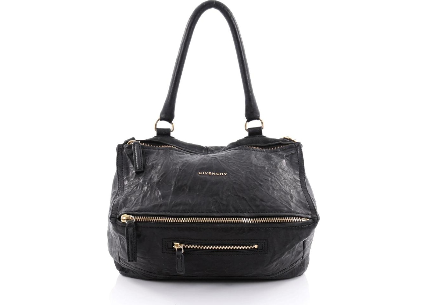eb6977bb0529 Givenchy Pandora Messenger Distressed Medium Black. Distressed Medium Black