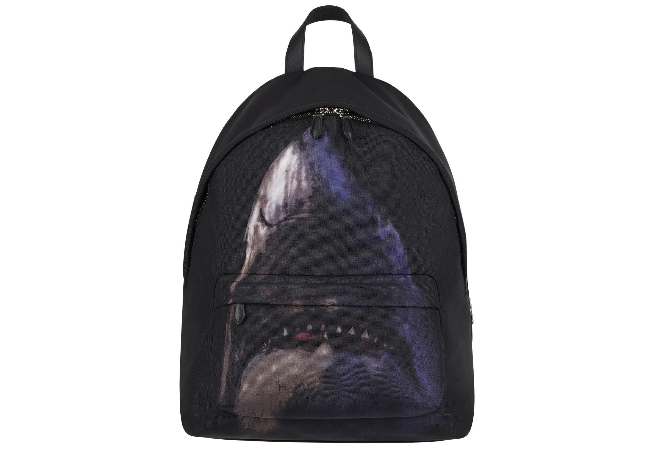 Givenchy Shark Backpack Nylon Black