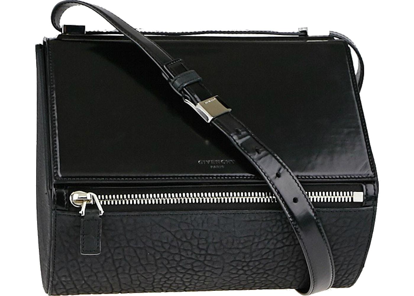 3714b87c01fb Givenchy Pandora Shoulder Bag Grained Medium Black. Grained Medium Black