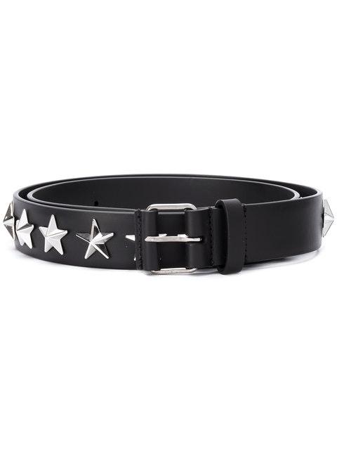 Givenchy Star Studded Belt 90-36 Black