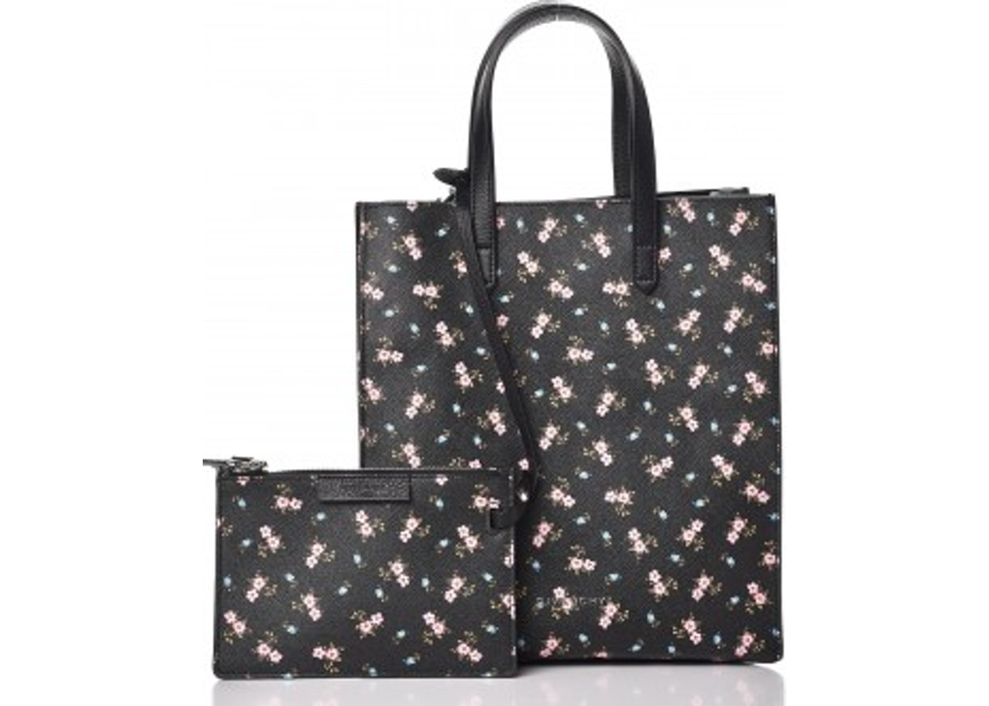 096e82b13960 Givenchy Stargate Tote Hibiscus Print With Accessories Small Black  Multicolor. Hibiscus Print With Accessories Small Black Multicolor