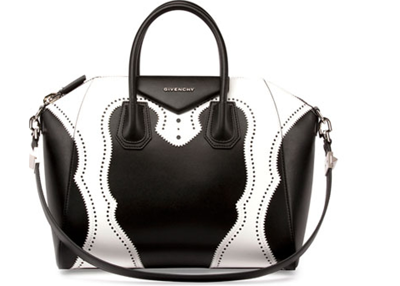 Givenchy Antigona Tote Medium Black White. Medium Black White 6b6fd09c8b398