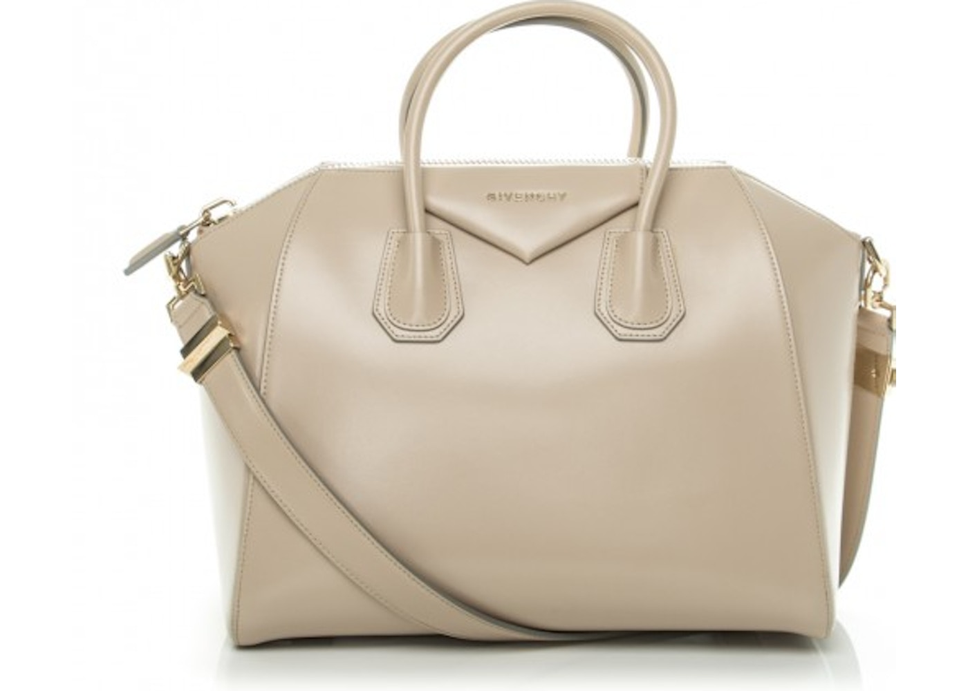 Givenchy Antigona Tote Smooth Calfskin Medium Beige 41c6729678dd4