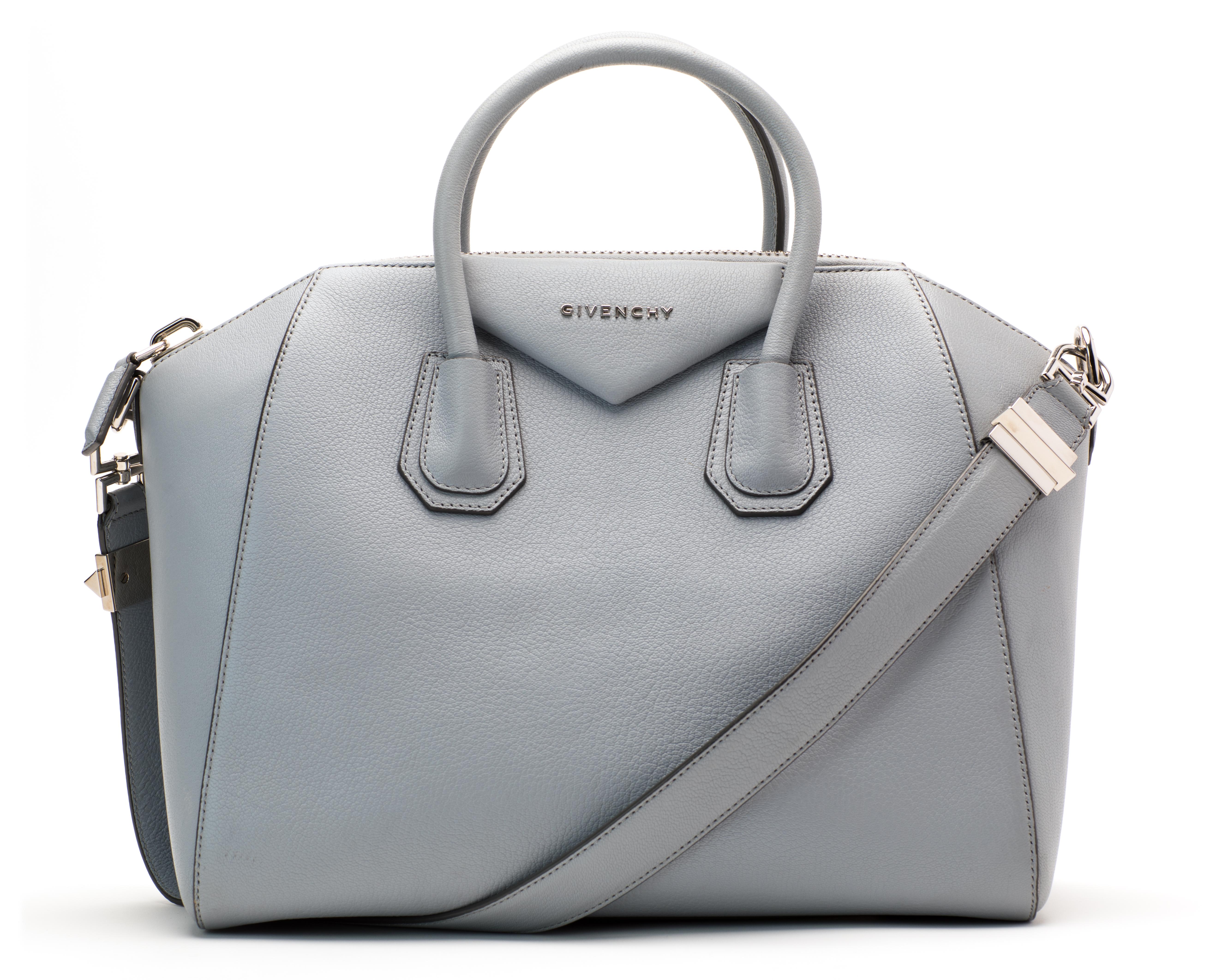 7d50de2b61 Givenchy antigona tote sugar goatskin medium grey blue jpg 1400x1000 Givenchy  handbags