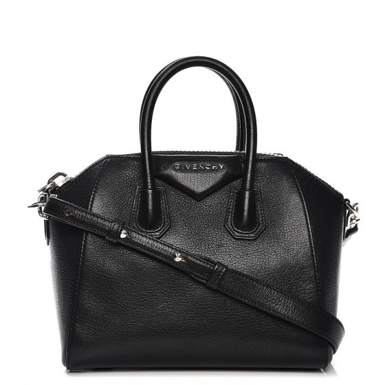 Givenchy Antigona Tote Sugar Goatskin Mini Black