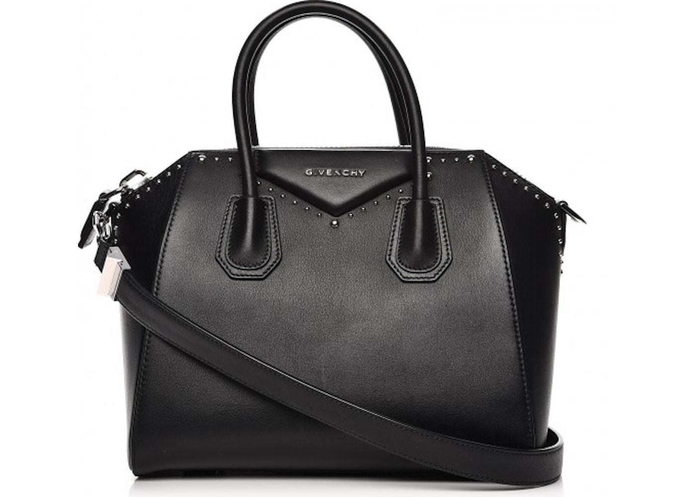 8021a815db46 Givenchy Antigona Tote Studded Small Black. Studded Small Black