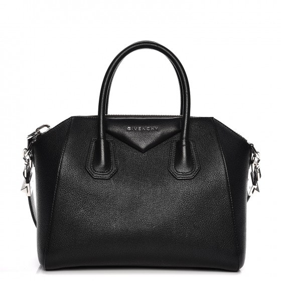 Givenchy Antigona Tote Sugar Goatskin Small Black