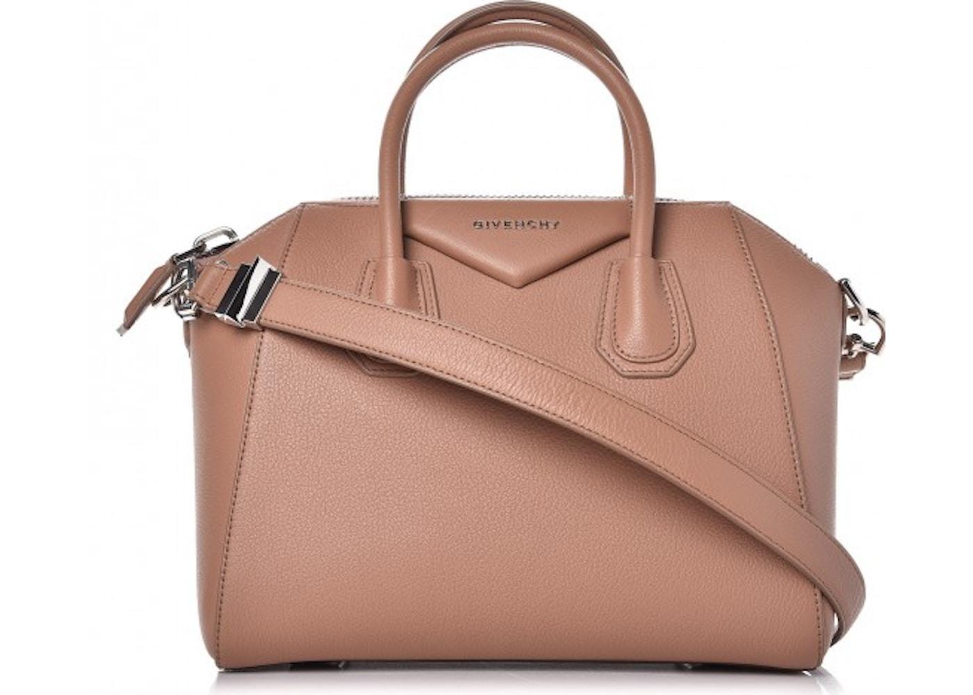 7ea258ab8e Givenchy Antigona Tote Sugar Goatskin Small Old Pink