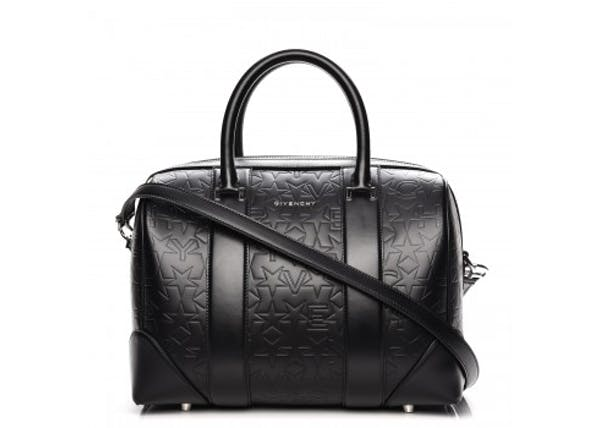 1355bd637f7d Givenchy Lucrezia Tote Embossed Star Medium Black
