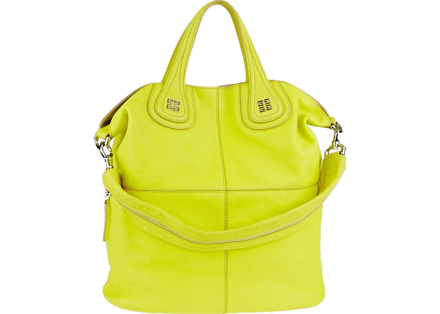 c73bc00157 Givenchy Nightingale Tote North South Goat Leather Bright Yellow. North  South Goat Leather Bright Yellow