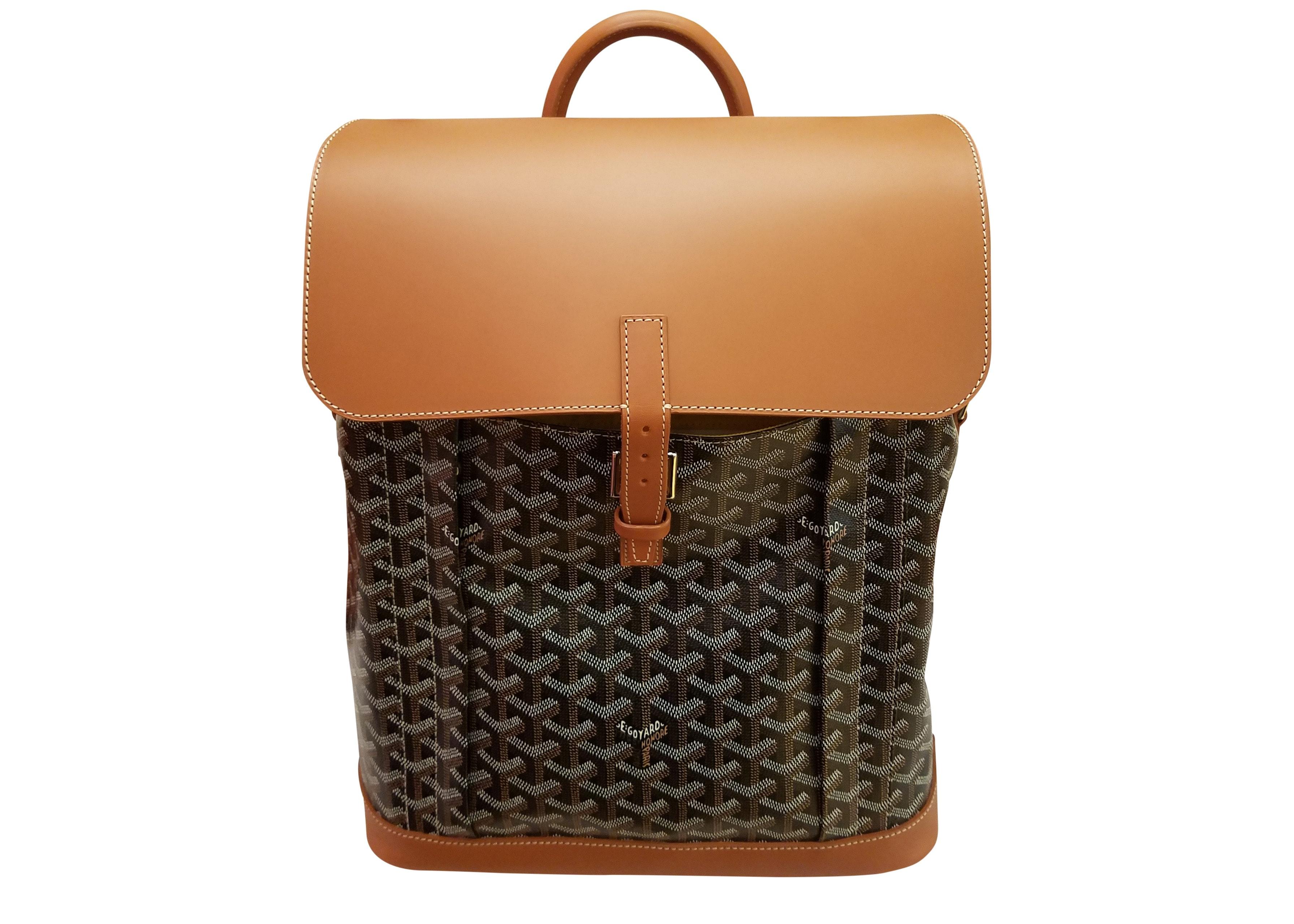 Goyard Alpin Backpack Black/Tan