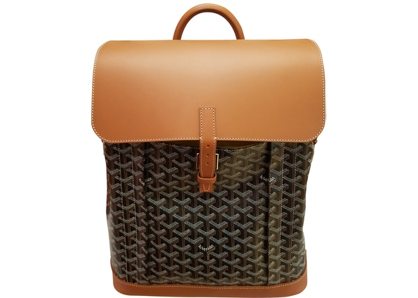 1bd4d6ebd768 Goyard Alpin Backpack Black Tan