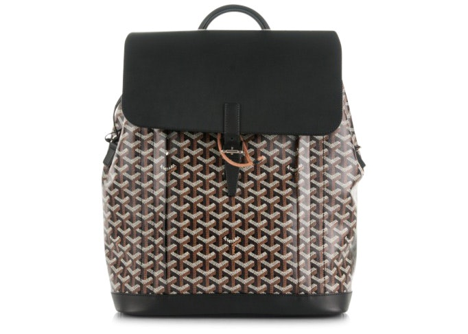 Goyard Alpin Backpack Goyardine Black