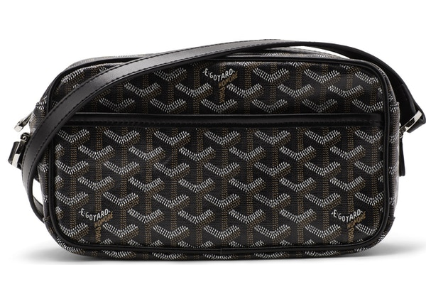 30a6508c8122 Goyard Cap Vert Crossbody Monogram Chevron Black
