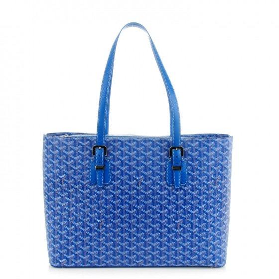 Goyard Marie Galante/Toile Sac Handbag Monogram Chevron GM