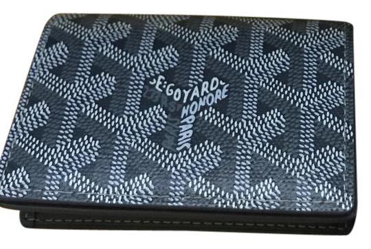 Goyard Malesherbes Wallet Goyardine Grey