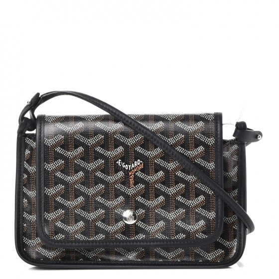 Goyard Plumet Wallet-Clutch Black