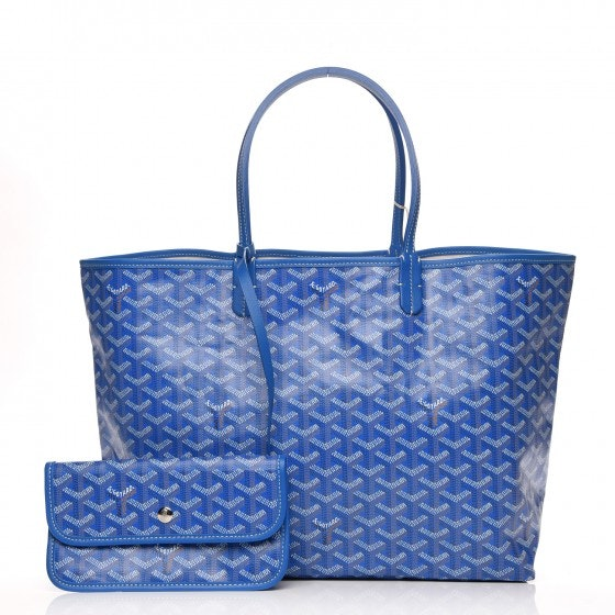Goyard St. Louis Tote Monogram Chevron PM
