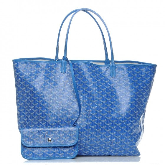 Goyard St. Louis Tote Monogram Chevron GM