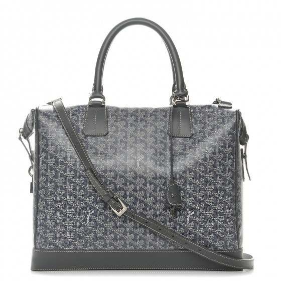 Goyard Victoria Tote Monogram Chevron Multicolor PM Grey