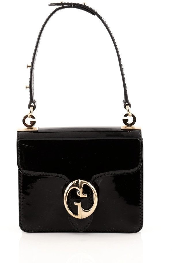 Gucci 1973 Shoulder Flap Small Black