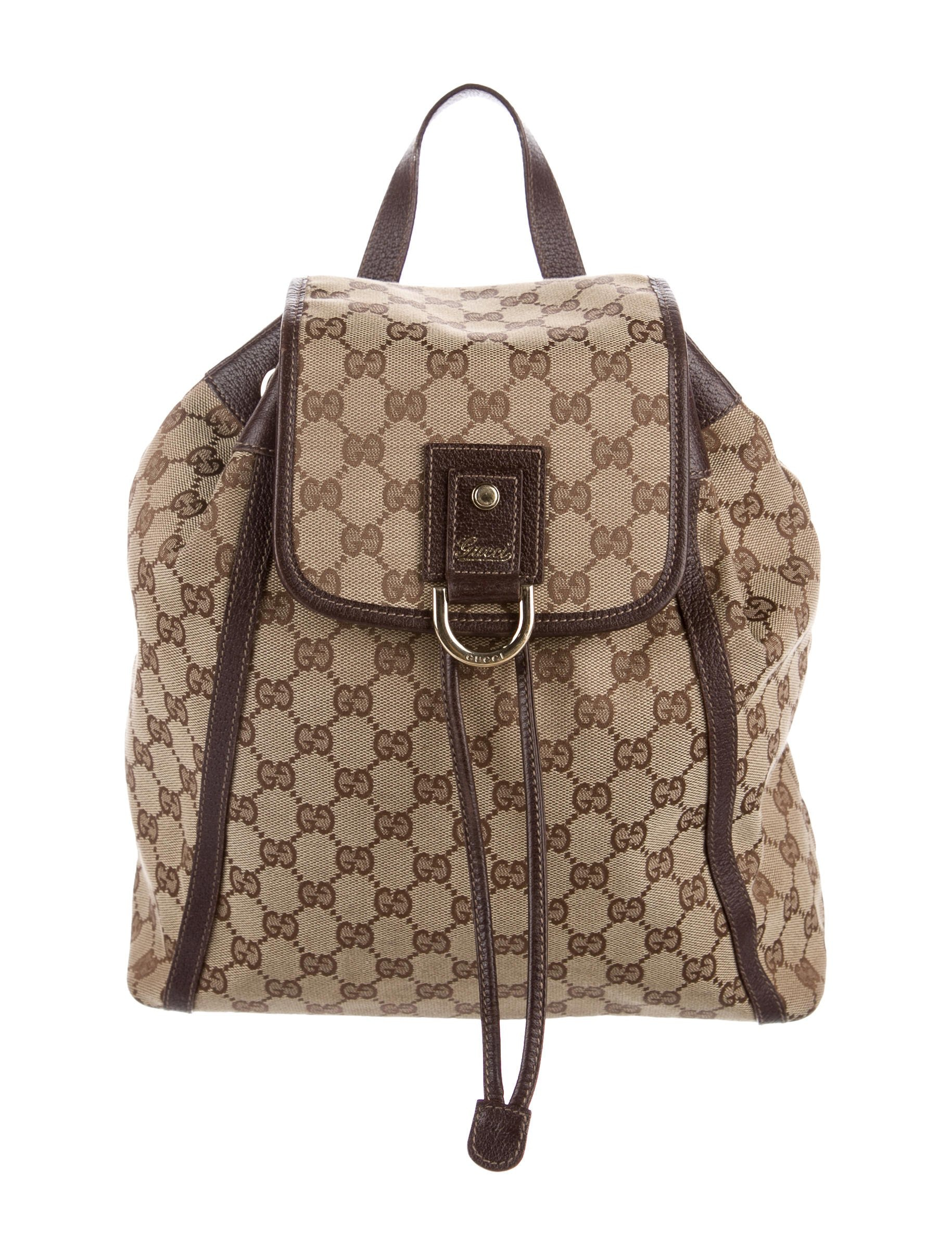 Gucci Abbey Backpack GG Brown
