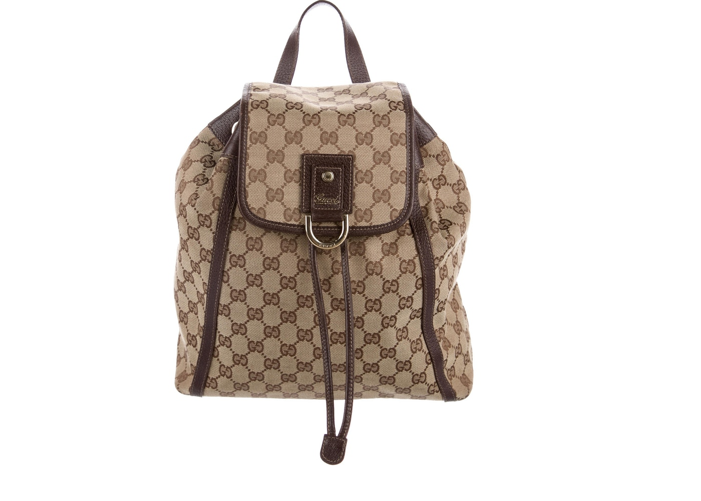 931f24ee905c3d Gucci Abbey Backpack GG Brown. GG Brown