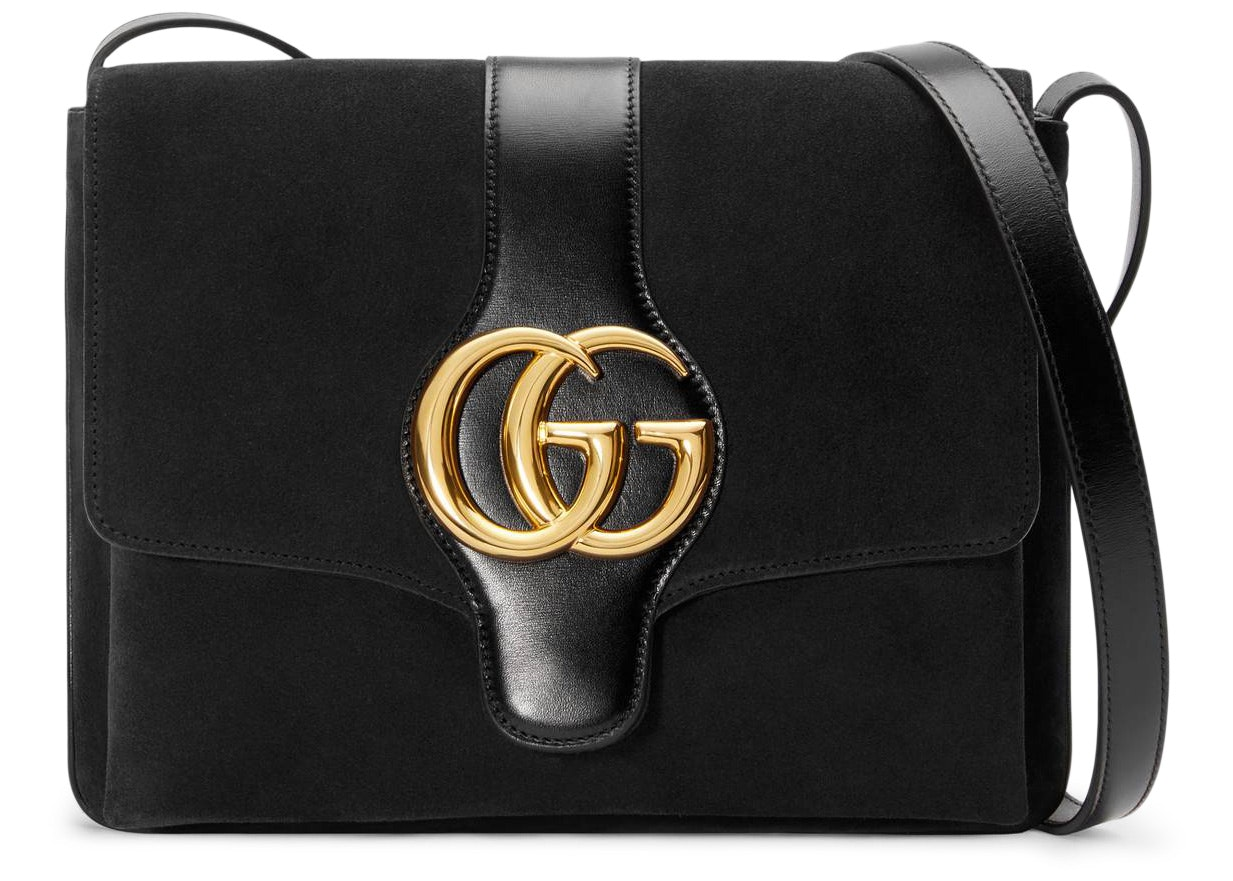 Gucci Arli Shoulder Bag Medium Black