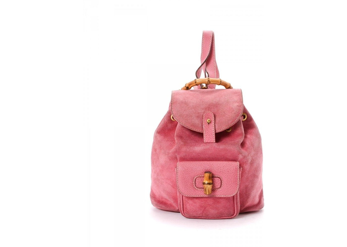 4033268e6 Sell. or Ask. View All Bids. Gucci Bamboo Backpack Pink
