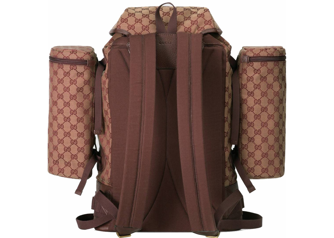 a6a94b688112a6 Sell. or Ask. View All Bids. Gucci Backpack Canvas Large Beige/Bordeaux