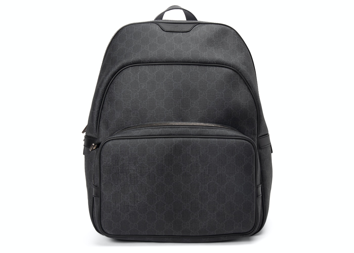 dde16aa2b3bd Gucci GG Supreme Backpack Monogram GG Medium Black. Monogram GG Medium Black
