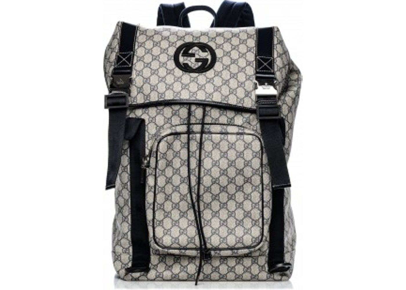 2ca25b2b62447f All White Gucci Backpack - CEAGESP