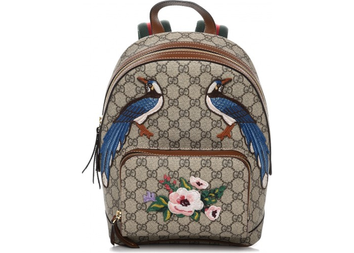 263b300ac Gucci Garden Collection Backpack Monogram GG Embroidered Small ...