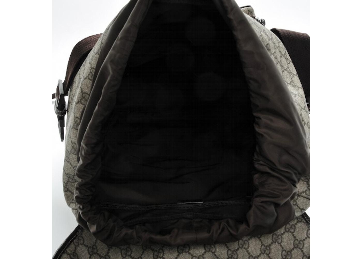 66a87ae139 Gg Supreme Canvas Interlocking G Backpack Black- Fenix Toulouse Handball