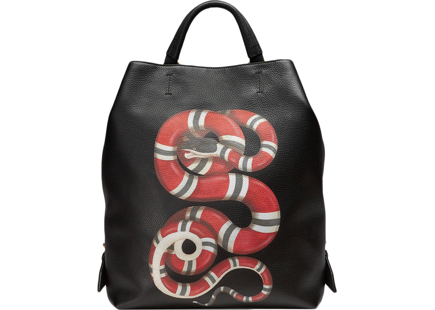 03039e773dbc7f Sell. or Ask. View All Bids. Gucci Kingsnake Print Backpack Black/Red/White