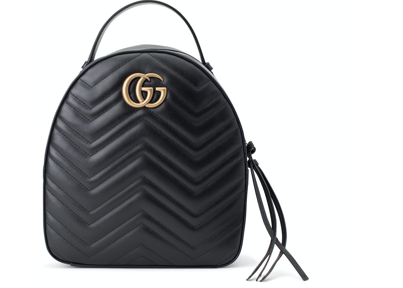 f90df8fdecb Gucci Marmont Backpack GG Interlocking. GG Interlocking