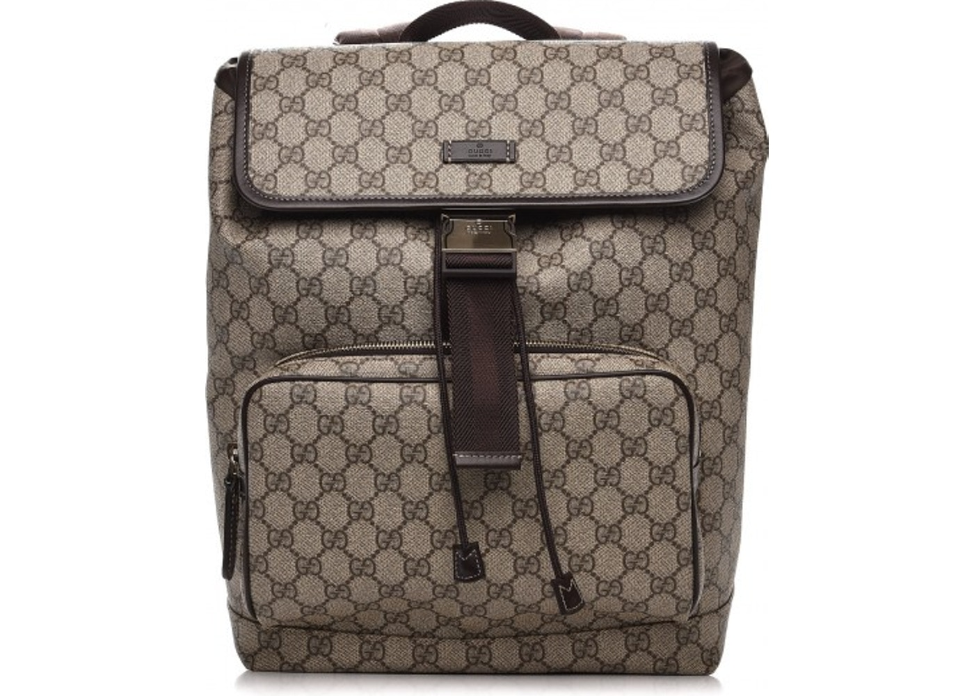 e13174ae8b0 Gucci Backpack Monogram GG Supreme Medium Brown. Monogram GG Supreme Medium  Brown