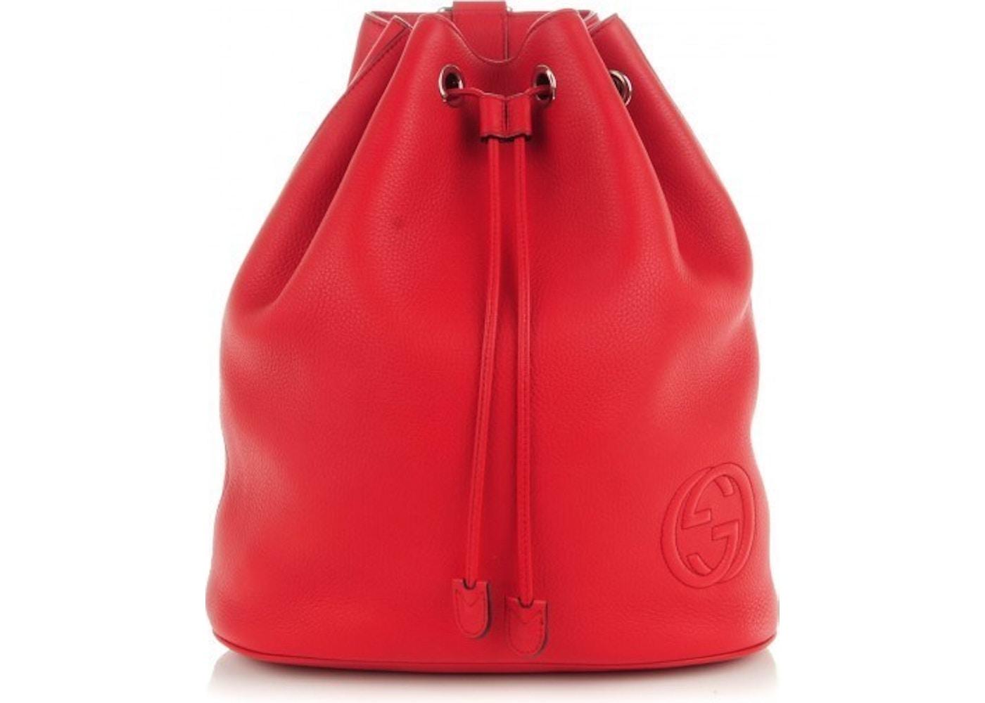 74fa70a93db Sell. or Ask. View All Bids. Gucci Soho Drawstring Backpack ...